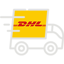 Courrier DHL, UPS and FedEX